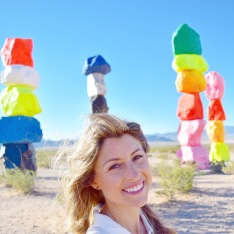 Seven Magic Mountains + LuLu*s | afternoonstroll.com